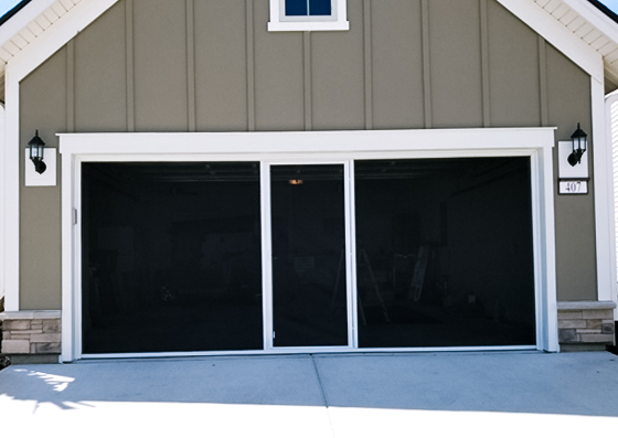 Great Call Today For A Free Estimate On Garage Door Screens!