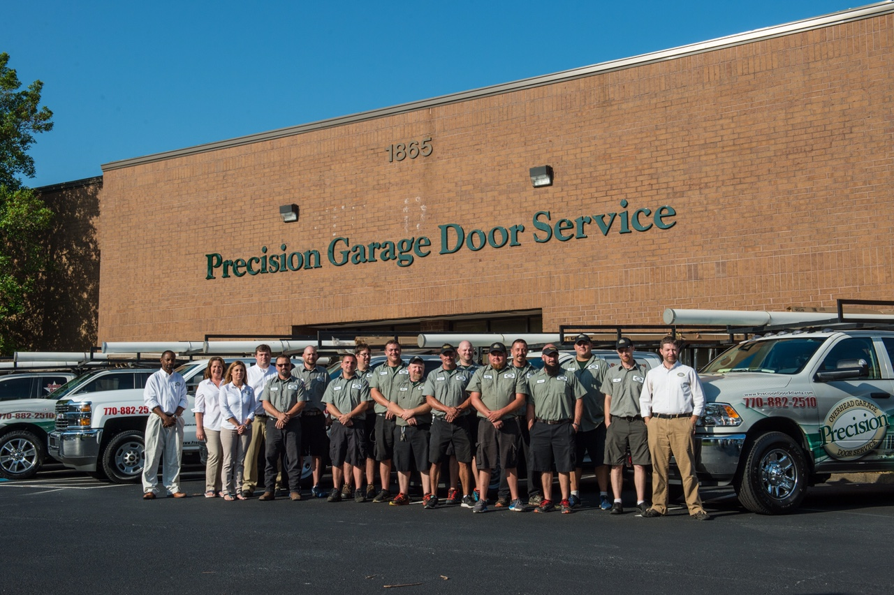 The Precision team outside of their Norcross office. : precision doors - pezcame.com