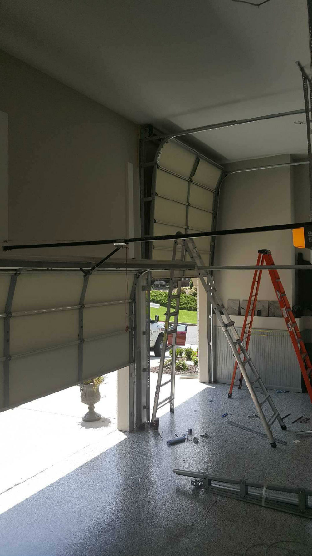 Charmant High Lift Garage Door Conversion