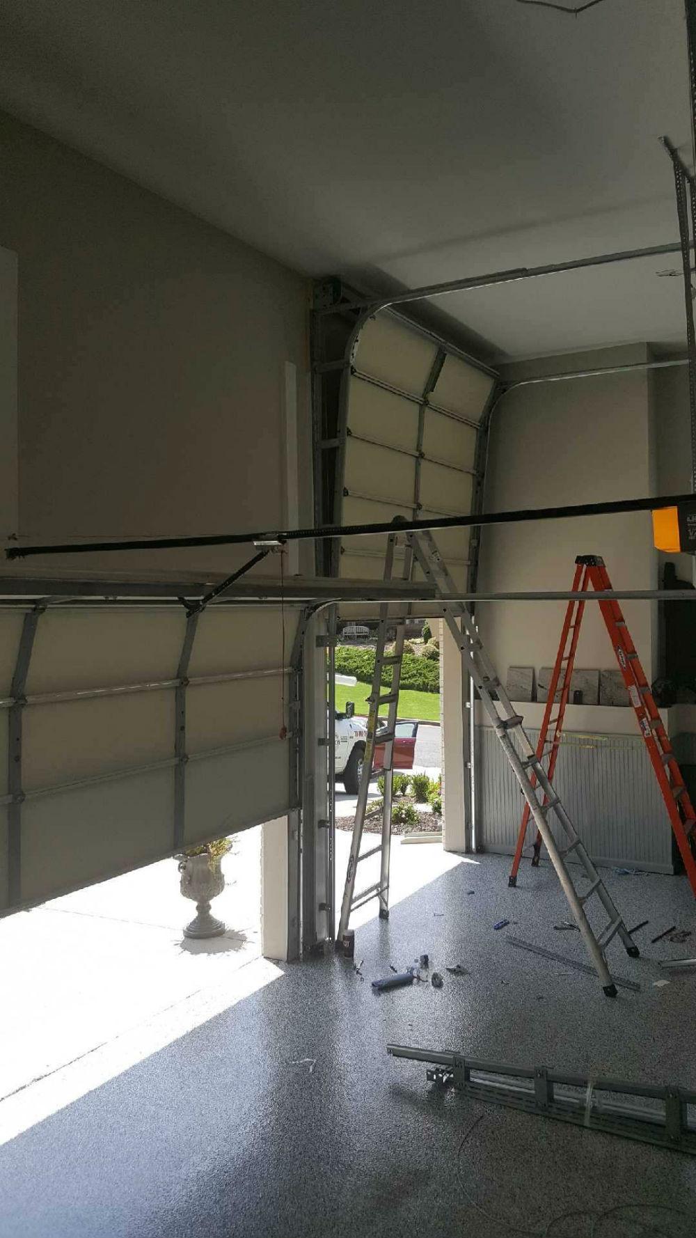 High Lift Garage Door Conversions Installation Precision Garage